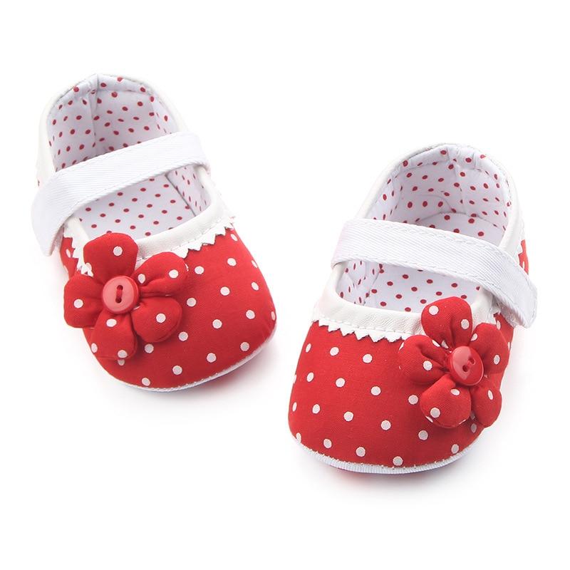Joyo roy dziewczynek antypoślizgowe bawełniane buty 0-2 lat dzieci - Buty dziecięce - Zdjęcie 3