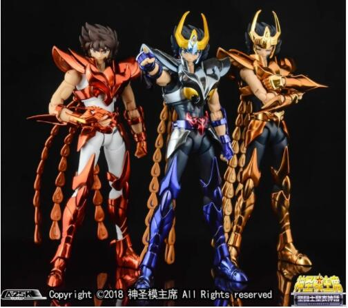 New Arrival GREAT TOYS Phoniex Ikki V3 EX Final Cloth EX GT Bronze Saint Seiya OCE Action Figure Toy Metal Armor