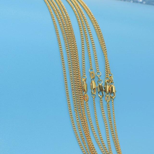 Купить ожерелье с золотым наполнителем 1 шт модное ожерелье плоской