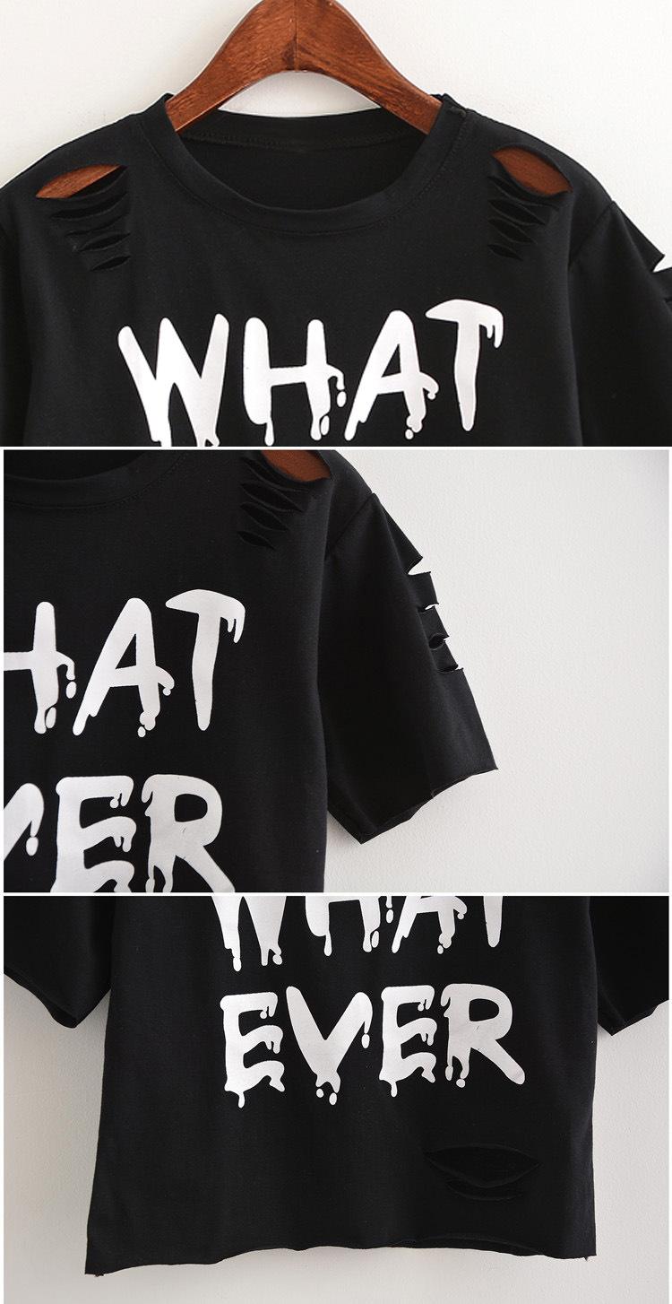 2017 Marka cotton lato nowa Europejska i Amerykańska wiatr krótkim rękawem O kołnierz koszula drukowane krótki t shirt kobiety 8