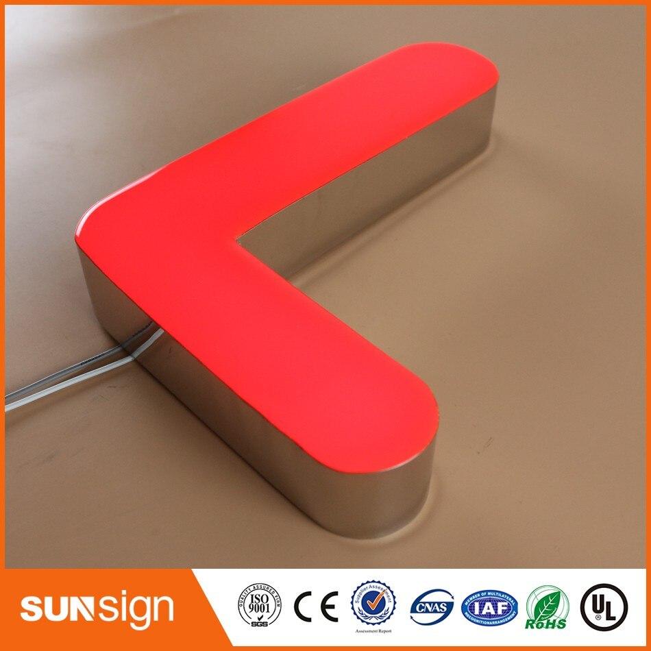 3d Led Sign Light Letter,Custom High Brightness Letters Led Light For Advertising In Store