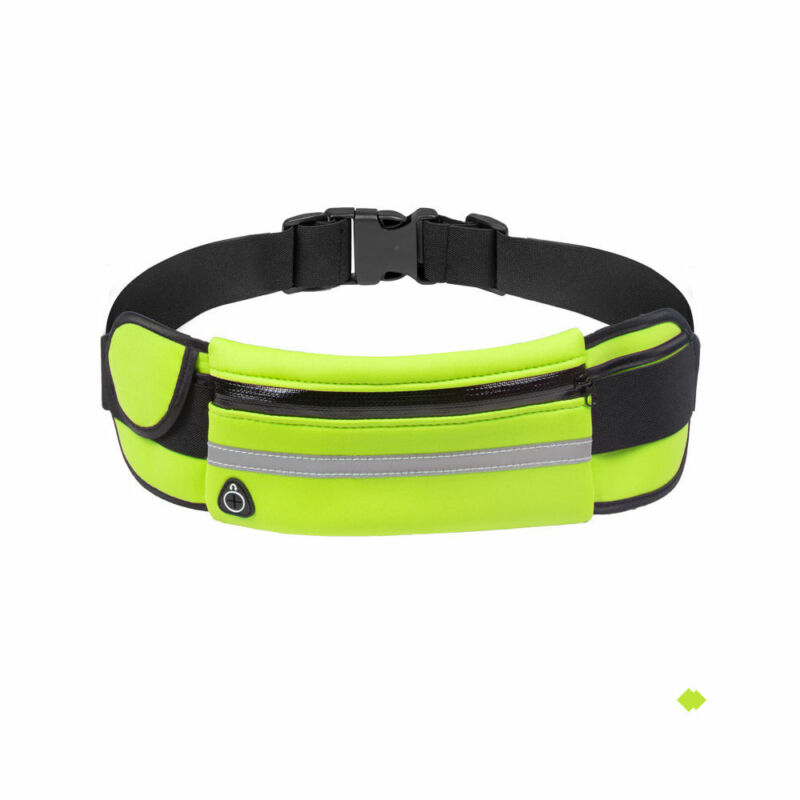 Women Men Waist Bum Bag Fanny Pack Belt Money For Running Jogging Cycling Phones Sport Running Waterproof Unisex Belt Waist Bag