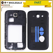 New Full Housing i9060 battery cover For Samsung Galaxy Grand Neo i9060i Middle Frame Bezel + Chassis Battery case Back Housing