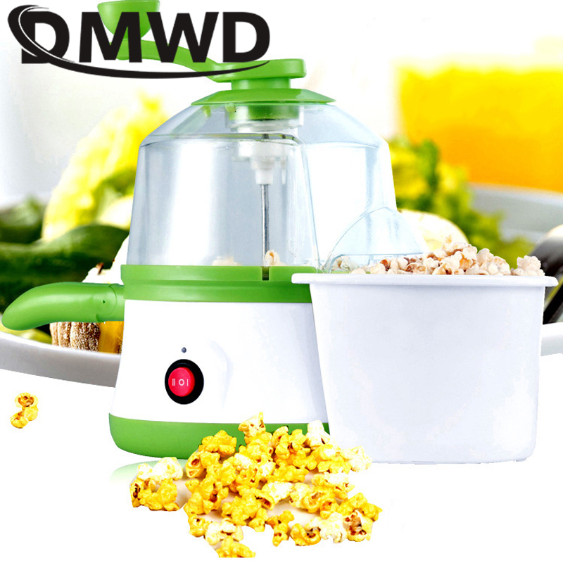 DMWD Multifunction MINI Electric popcorn machine Egg Boiler Steamer Steamed eggs omelette frying Pan Corn Popper Popcorn maker household popcorn maker multifunction egg boiler steamer electric skillet mini omelette frying pan corn popper page 6