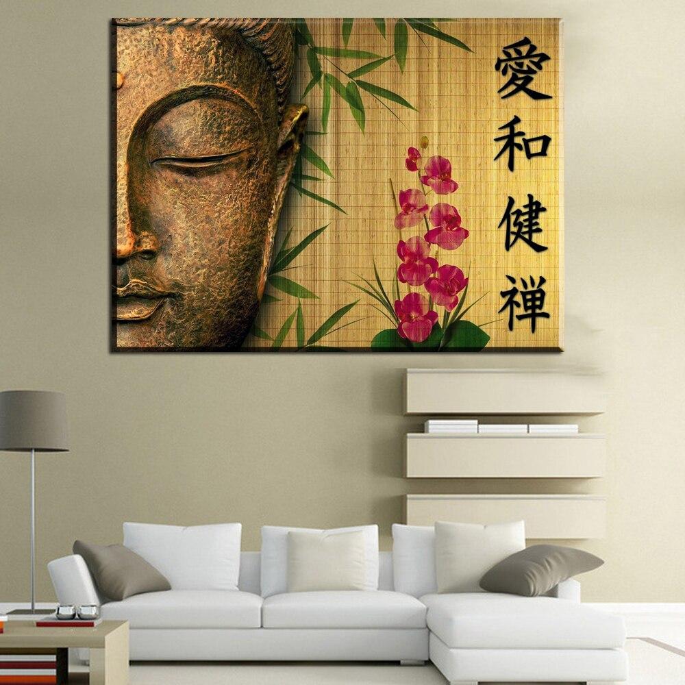 Xh2060 Chinesische Buddha Gesicht Leinwandbilder Wandbilder Fr Wohnzimmer Schlafzimmer Dekoration Ungerahmt Kunst GemldeChina
