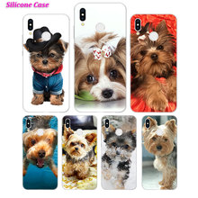 Silicone Phone Case Yorkshire terrier dog puppy for Huawei P Smart 2019 Plus P30 P20 P10 P9 P8 Lite Mate 20 10 Pro Lite Nova 3i стоимость