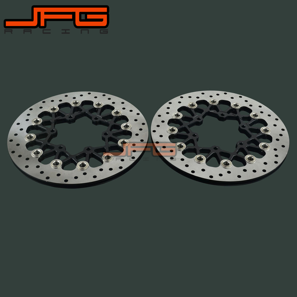Motorcycle Front Floating Brake Disc Rotor For SUZUKI GSR600R 08-14 GSX750R GSX1000R GSXR600 GSXR750 GSXR1000 GSXR 600 750 100