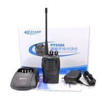 New Portable Ham CB Radio Walkie Talkie Kirisun PT558S UHF 400 470MHz 4W 16CH Scan Monitor TOT Voice 2 way radio PT 558S