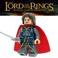 El Señor de los anillos: Eomer Aragorn Uruk-Hais Arquero Mordor orcos building blocks classic modle ladrillos niños juguetes