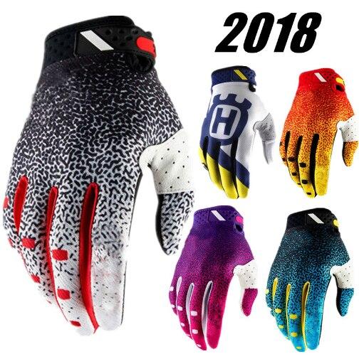 2018 Husqvarna Motocross Glove BMX Off Road Motos Dirt Bike ATV MX Motorcycle Gloves mtb gloves Air cycling racing riding gloves