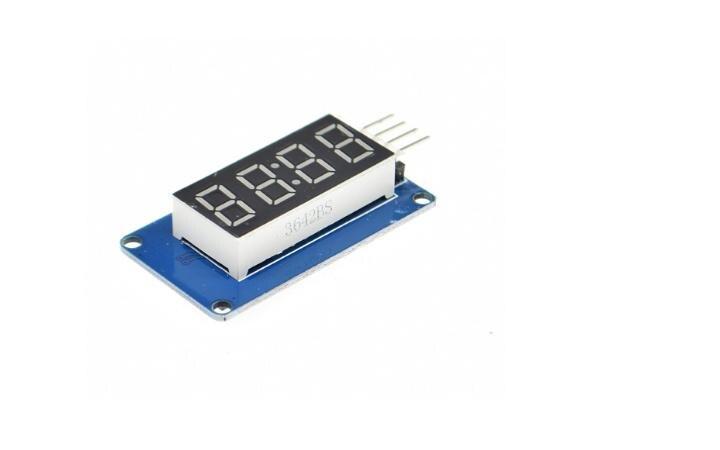 2 шт. tm1637 LED Дисплей модуль 4 биты 0.36 дюйма часы красный анод цифровой трубки Последовательный драйвер платы