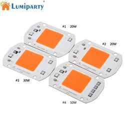 COB светодиодный фито-чип лампа полный спектр светодиодный светильник для выращивания 20 Вт 30 Вт 50 Вт диодный растительный светильник s Fitolampy д...