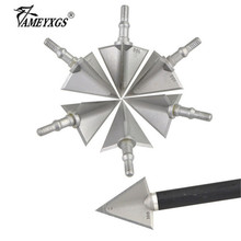 12pcs Archery 100 grain Arrowhead 2 Blades Broadhead For Outdoor Sports Compound Bow Recurve Hunting Shooting Accessories