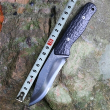 2016 hot survival manual forging equipment straight knife self-defense camping hunting knife high hardness tool collection