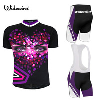 9 style widewins Cycling Clothing Bike jersey Quick Dry Bicycle clothes mens summer team Cycling Jerseys 16D bike shorts set