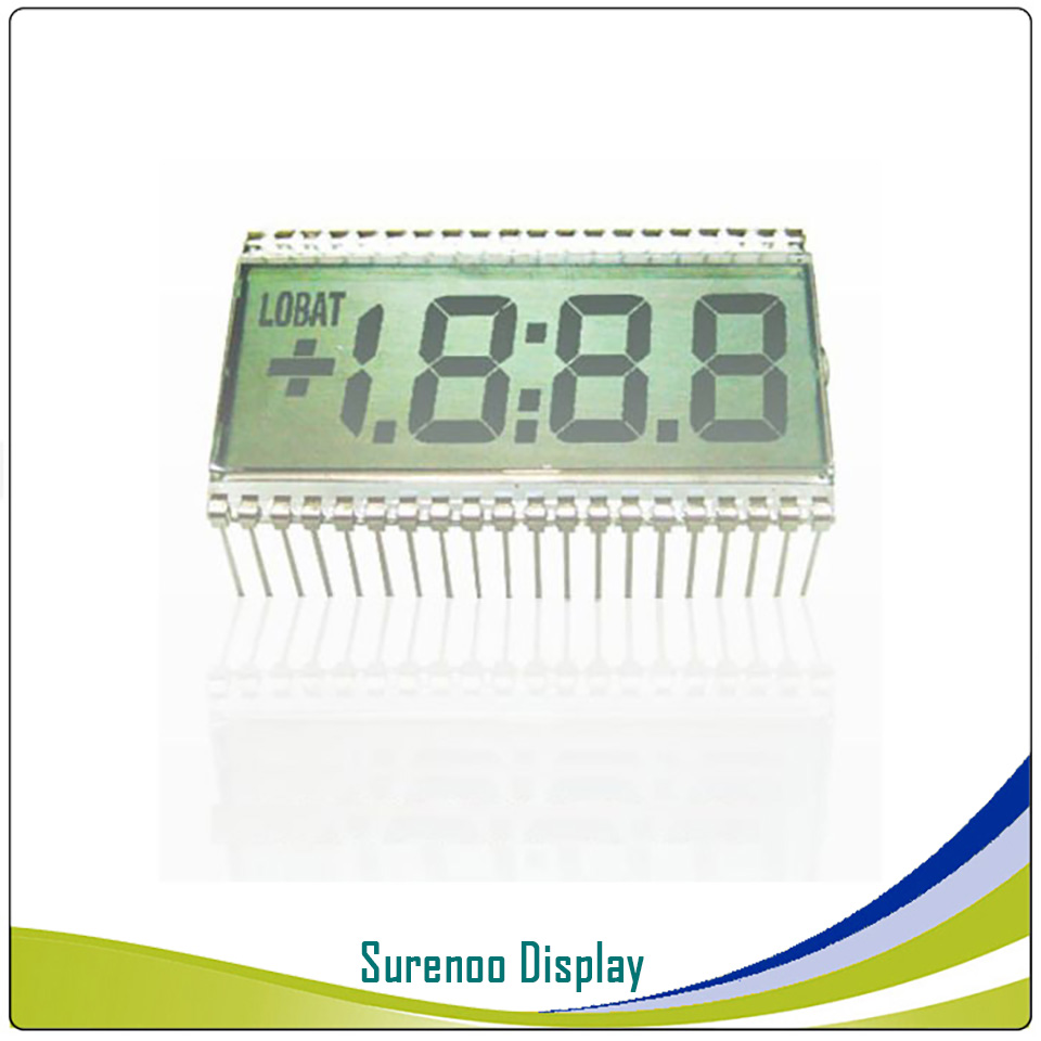 Brand New Customized 3 1/2 3.5 Bit 3V Segment Digital LCD Module Display Screen Glass (Outline: 50.8*30.5MM) 40P For Multimeter