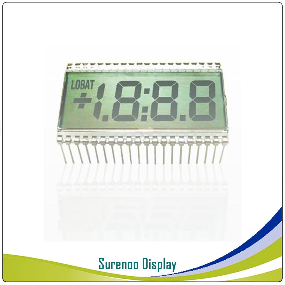 Brand New Customized 3 1/2 3.5 Bit 3V Segment Digital LCD Module Display Screen Glass (Outline: 50.8*30.5MM) 40P For Multimeter