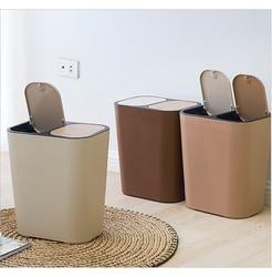 EVERYFIT Bidoni e sacchi per rifiuti trash can Per La Casa Creativo Coperto da cucina bagno soggiorno camera da letto Con coperchio Classificazione di carta