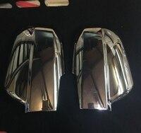 Auto Review Mirror Cover Trim Frame Decorations For Hyundai Tucson 2004 2005 2006 2007 2008 Auto