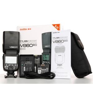 Image 5 - Godox V860II C V860II N V860II S V860II F V860II O TTL HSS Li ion Battery Speedlite Flash for Canon Nikon Sony Fuji Olympus