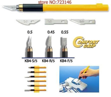 MADE IN JAPAN OLFA Professional art font b knife b font AK 4 with 3pcs blades