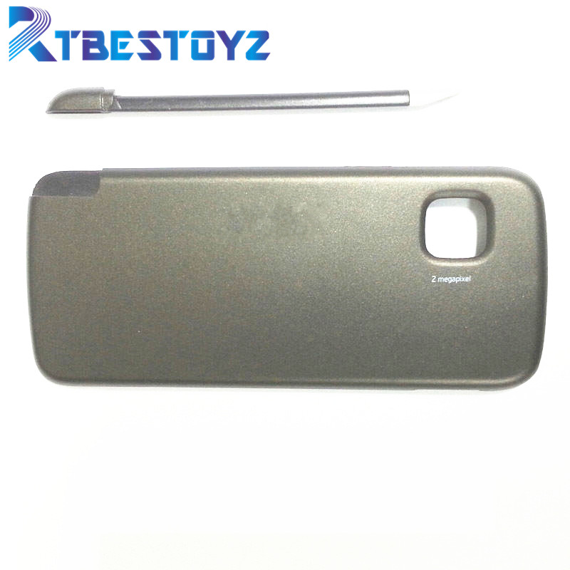 RTBESTOYZ Back Glass Battery Cover For <font><b>Nokia</b></font> <font><b>5230</b></font> Battery Back Door Cover <font><b>Case</b></font> Housing image