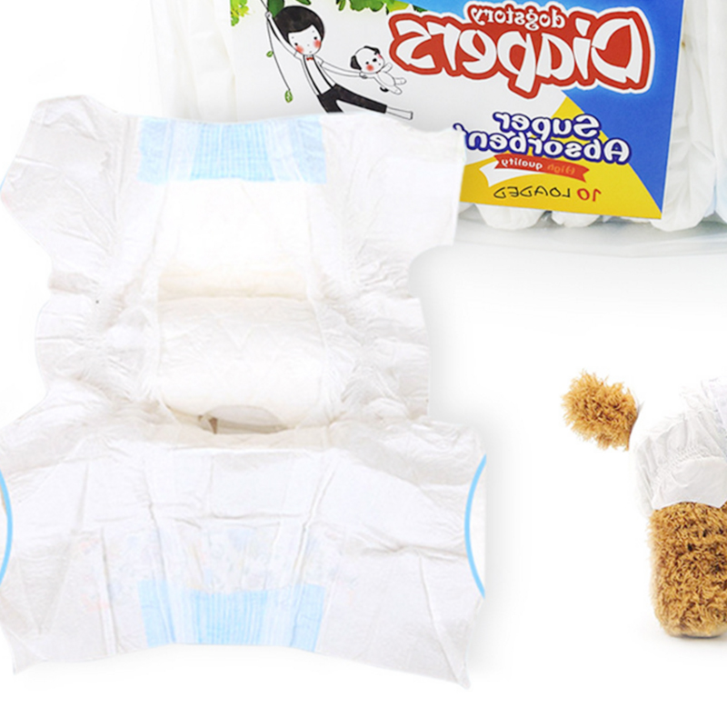 XXS XS S M L XL size 12 PCS/Bag Pet Diapers Female Dog Disposable Leakproof Nappies Puppy Super Absorption Physiological  Pants