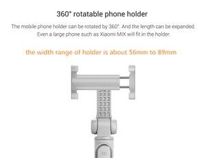 Image 4 - Xiaomi portable Mini trépied pliable 2 en 1 monopode Selfie bâton Bluetooth sans fil télécommande obturateur pour téléphones Iphone
