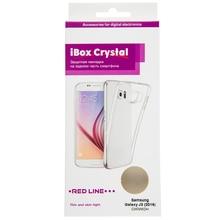 Накладка силикон iBox Crystal для Samsung Galaxy J3 (2016) (прозрачный)