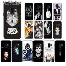 MaiYaCa Teen Wolf Dylan O'Brien Stilinski 24 Soft Phone Case for Samsung Galaxy S9 plus S7 edge S6 S10 Lite S10Plus S10E S8 plus(China)