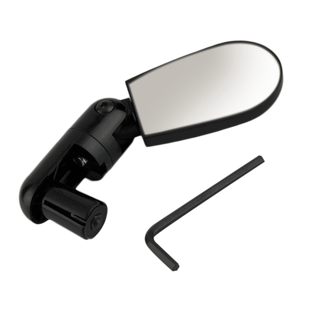 New Popular Black Adjustable Handlebar Mirror Rearview Back Mirror Mini Bike Bicycle Cycling Rearview Outdoor Sport цены