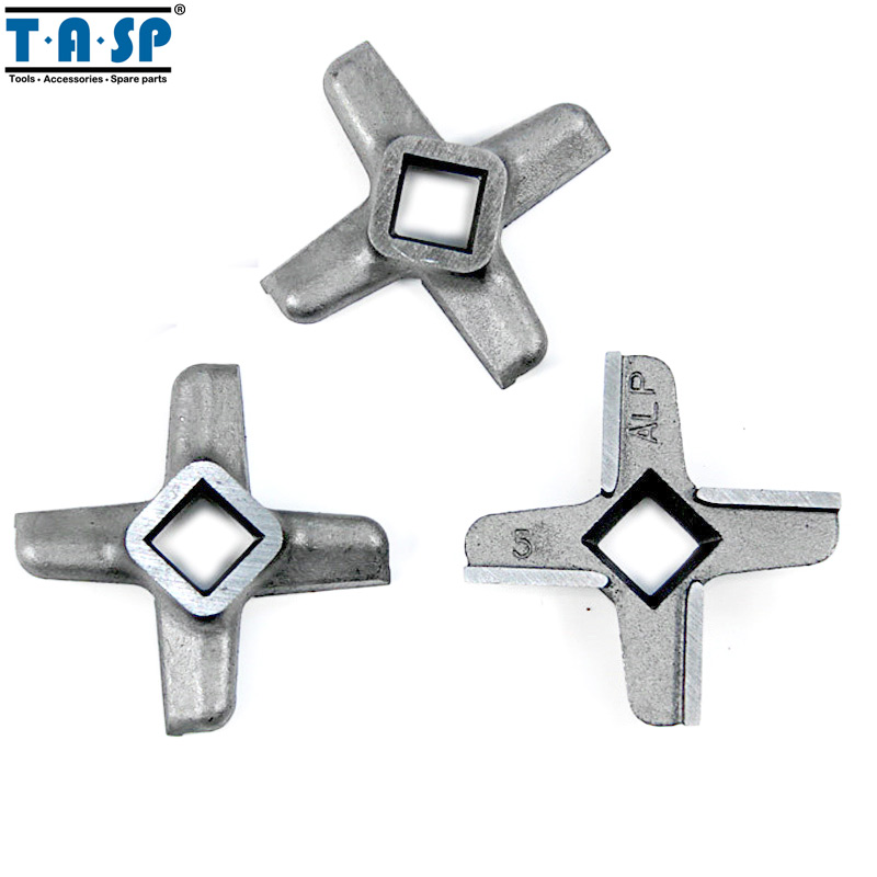 3 Pieces Meat Grinder Knife #5 Mincer Blade Spare Parts For Bosch Philips Siemens3 Pieces Meat Grinder Knife #5 Mincer Blade Spare Parts For Bosch Philips Siemens