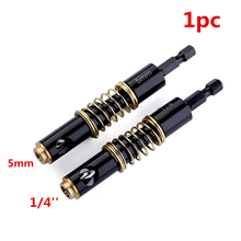 цена на 1pc HSS 2 Sizes Brass Self Centering Hinge Twist Drill Bits 1/4 & 5mm Screw Hole Saw Woodworking Reaming Cabinet Tool