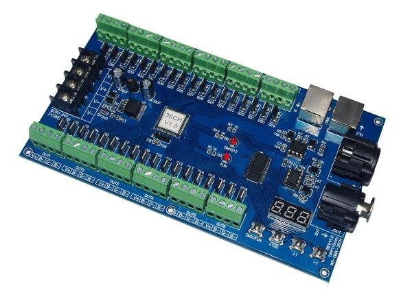 Image 2 - best price 1 pcs DC5V 36V 36 channel 12 groups dmx512 decoder led controller for led strip lights-in RGB Controlers from Lights & Lighting