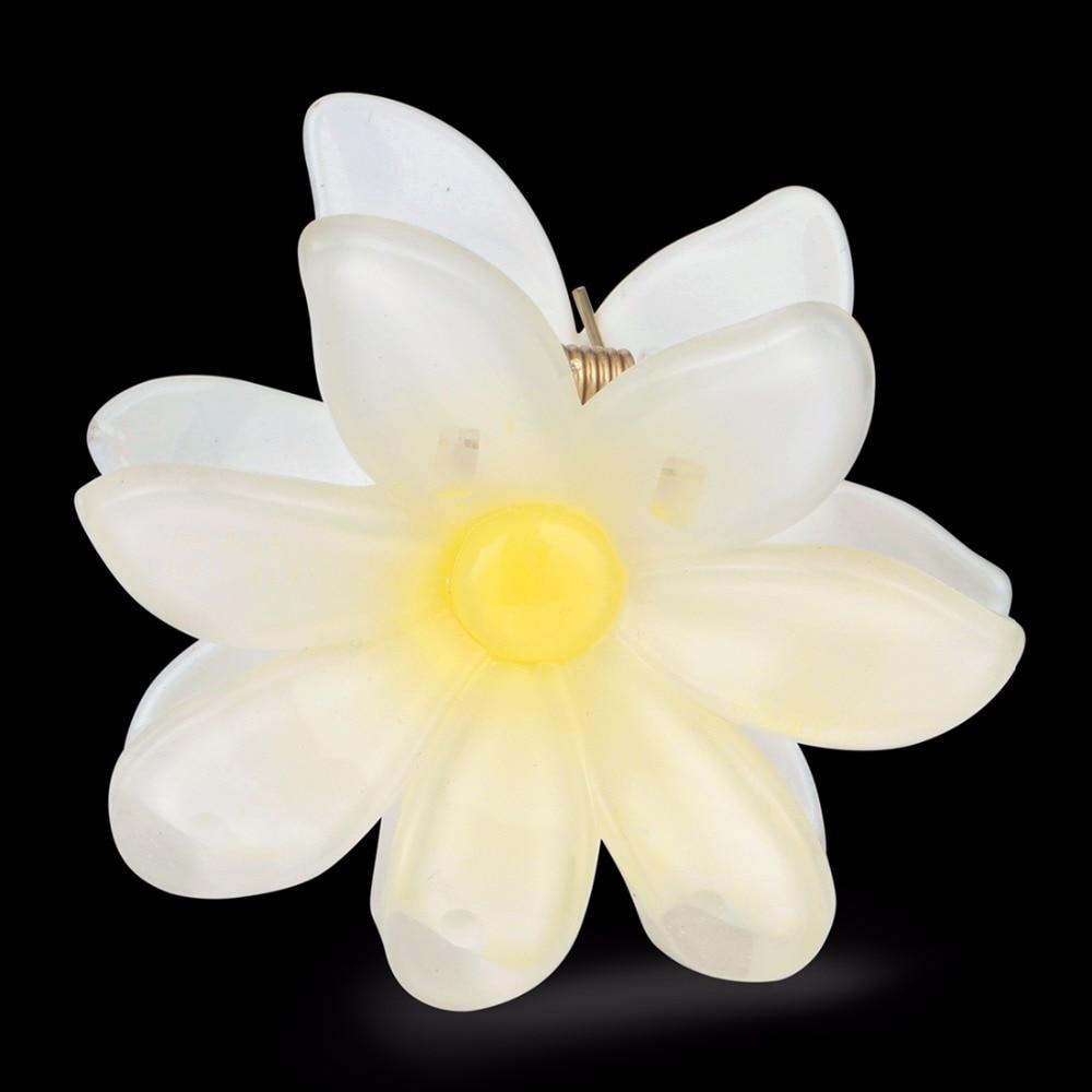 Aliexpress Buy Floral Hair Clip Womens Hair Accessories White
