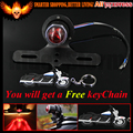 New Black 12 V Motorcycle Tail Brake Light Lamp For Harley Bobber Chopper Cafe Racer