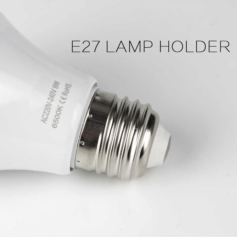 LED Bulb Lamps E27 220V Light Bulbs SMD 2835 Power 3W 5W 7W 9W 12W 15W High Brightness Lampada LED Bombilla Table Lamp Spotlight