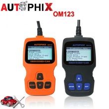 AUTOPHIX Multi-language OBDMATE OM123 OBD OBD2 EOBD CAN Hand-held Engine Analyzer Code Reader Auto Car Diagnostic Code Scanner