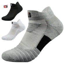 NANCY TINO  Sport Socks Men Outdoor Breathable Wearproof Antiskid Running Professional Basketball Soccer Cycling Cotton