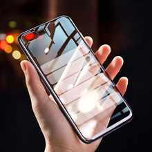 Luxury Ultra Thin Plating Transparent Case for iphone 7 6S 6 S 8 Plus Soft TPU Silicon Clear Case for iphone X XS Max XR 5 5S SE цена и фото