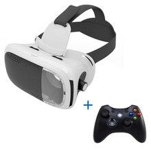 Vr коробка 3D гарнитура виртуальной реальности Очки/очки VR коробка 2.0 картон 3D Очки для смартфонов с Беспроводной Пульты ДУ для игровых приставок