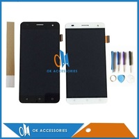 Black Color For Fly FS504 LCD Display Touch Screen Digitizer Assembly High Quality 1PC Lot