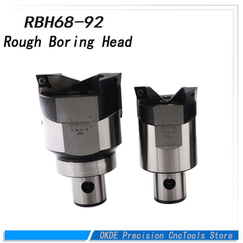 High precision high-accuracy RBH Twin bit RBH 68-92mm Twin-bit Rough Boring Head CCMT120408 used for deep holes boring tool New ccmt120408 high precision rbh90 122mm twin bit rough lbk6 boring head used for deep holes accuracy used for deep holes
