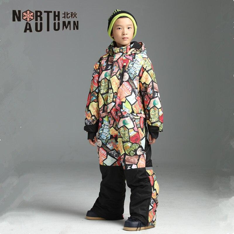 Combinaisons de Ski d'hiver pour filles combinaison de Ski garçon salopette imperméable enfants fille barboteuse de neige salopette coupe-vent