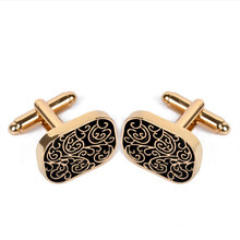 Mens Shirts Cuff Links Collection Luxury Accessories Classic Man Fashion Design Carving Cufflink for Men Tie Groomsmen Gifts(China)