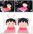 Chibi Maruko japonesa de dibujos animados de felpa cojín del asiento cojín amortiguador del coche de oficina estudiante Siamés cojín para silla