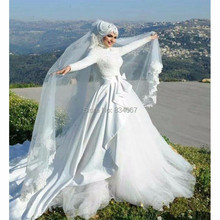 Stunning Muslim Wedding Gown – New Design