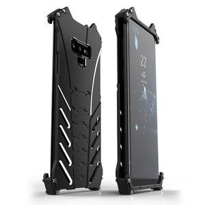 Image 1 - R JUST สำหรับ Samsung S10 PLUS S8 S9 BATMAN เกราะโลหะอลูมิเนียมสำหรับ Samsung Galaxy หมายเหตุ 8 9 A8S A9S Coque