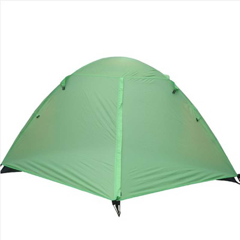 Tents outdoor Double camp against the heavy rain Quick-opening two-door breathable glass rod 8880