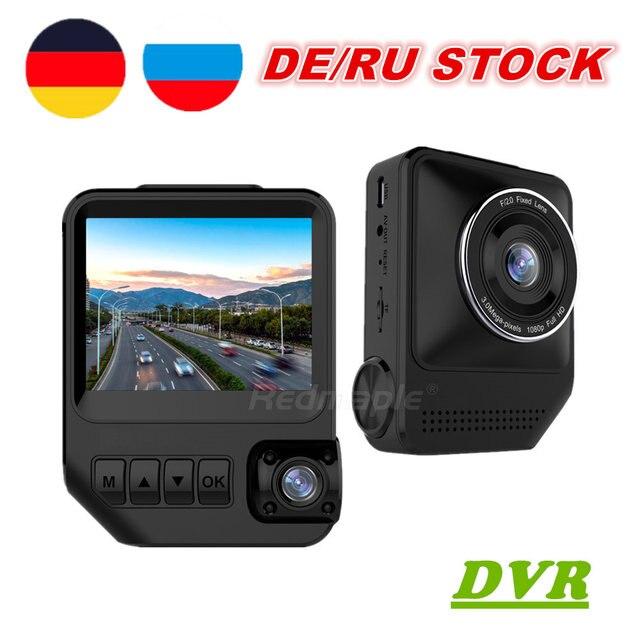 Car DVR Camera Dual Lens Full HD 1080P 170 Degree Dashcam Video Recorder for Cars Night Vision G-Sensor Dash Cam